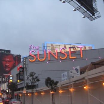 Sunset strip of king