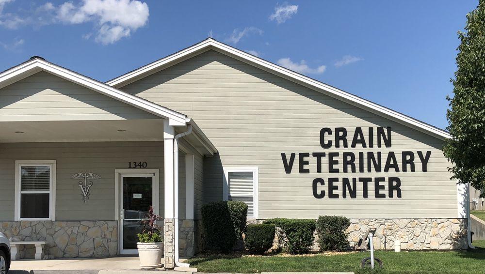 Crain Veterinary Center: 1340 NW Jefferson St, Grain Valley, MO
