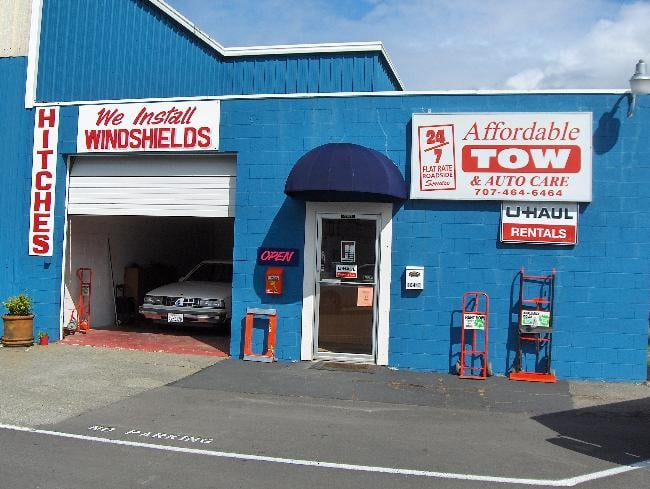 Affordable Tow & Auto Care: 1044 US Hwy 101 N, Crescent City, CA