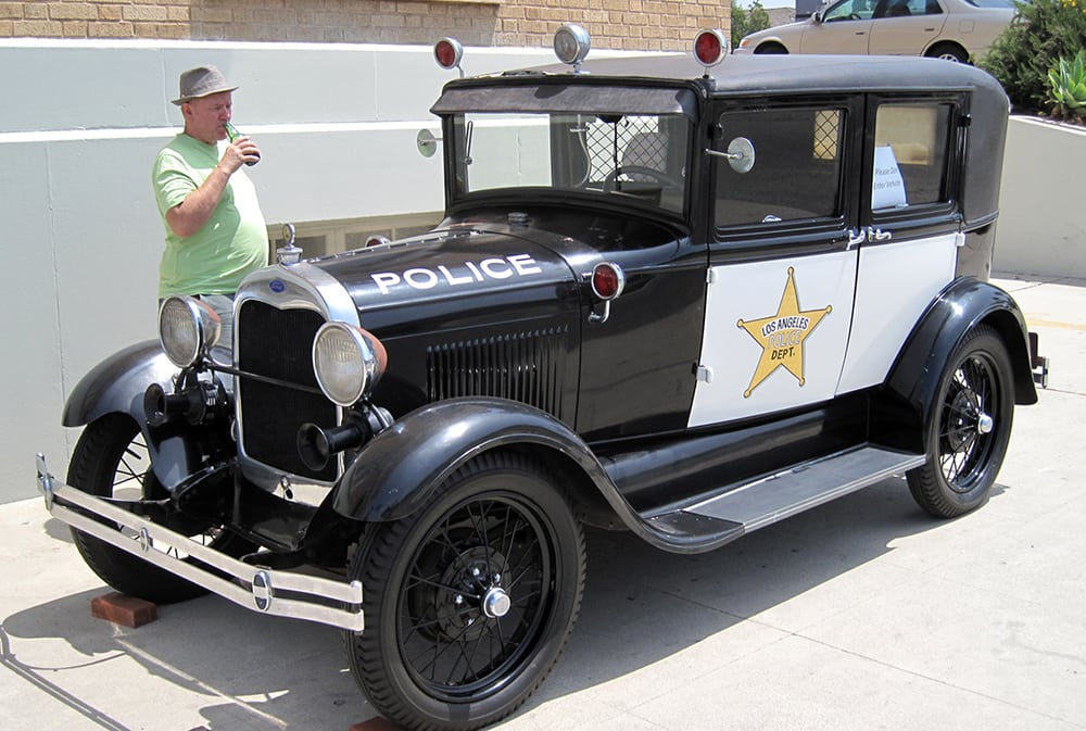 1930 Ford Model A LAPD Squad Car. - Yelp