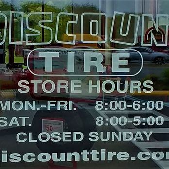 Discount Tire Store Hours >> Discount Tire 17 Photos 29 Reviews Tires 1600 General Booth