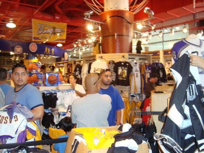 big sale 6f231 f6b57 LA Team Store Lakers Staples Center - Yelp