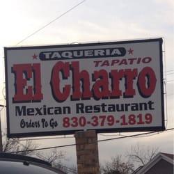 El Charro Mexican Restaurant Seguin Tx