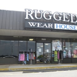 rugged wearhouse - closed - men's clothing - 7851 sudley rd