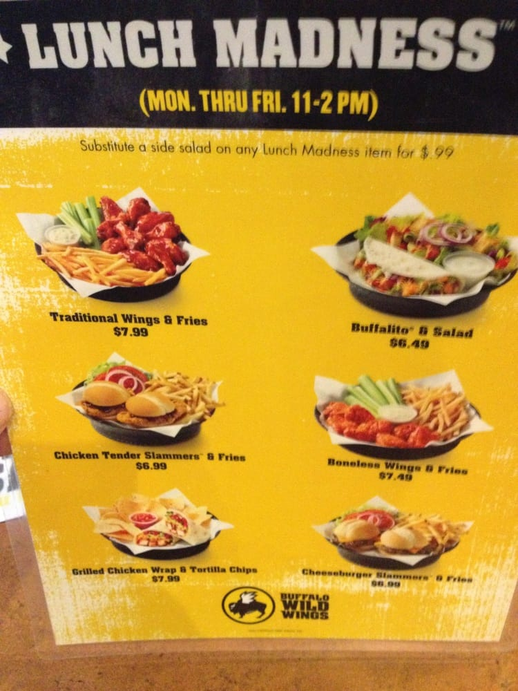 Bww lunch deals cyber monday deals on sleeping bags for Lunch specials