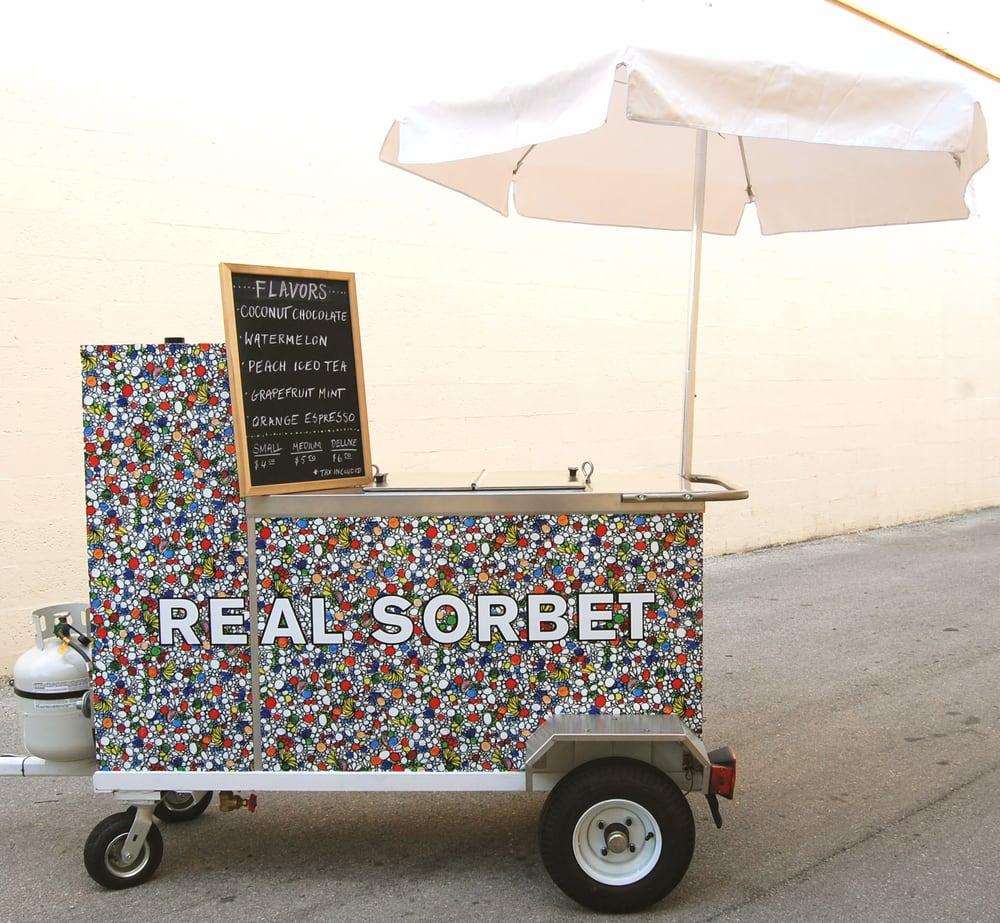 Real Sorbet: NE 18th St, Miami, FL