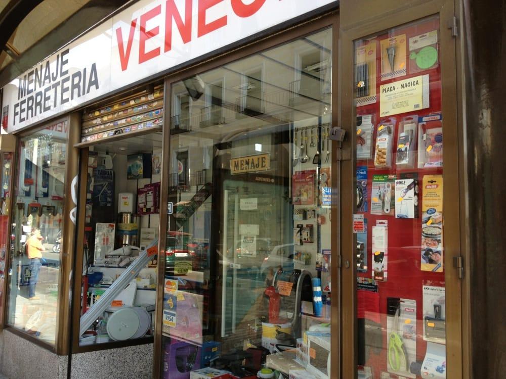 Menaje venecia ferreter as calle de feijoo 4 for Ferreteria cerca de mi ubicacion