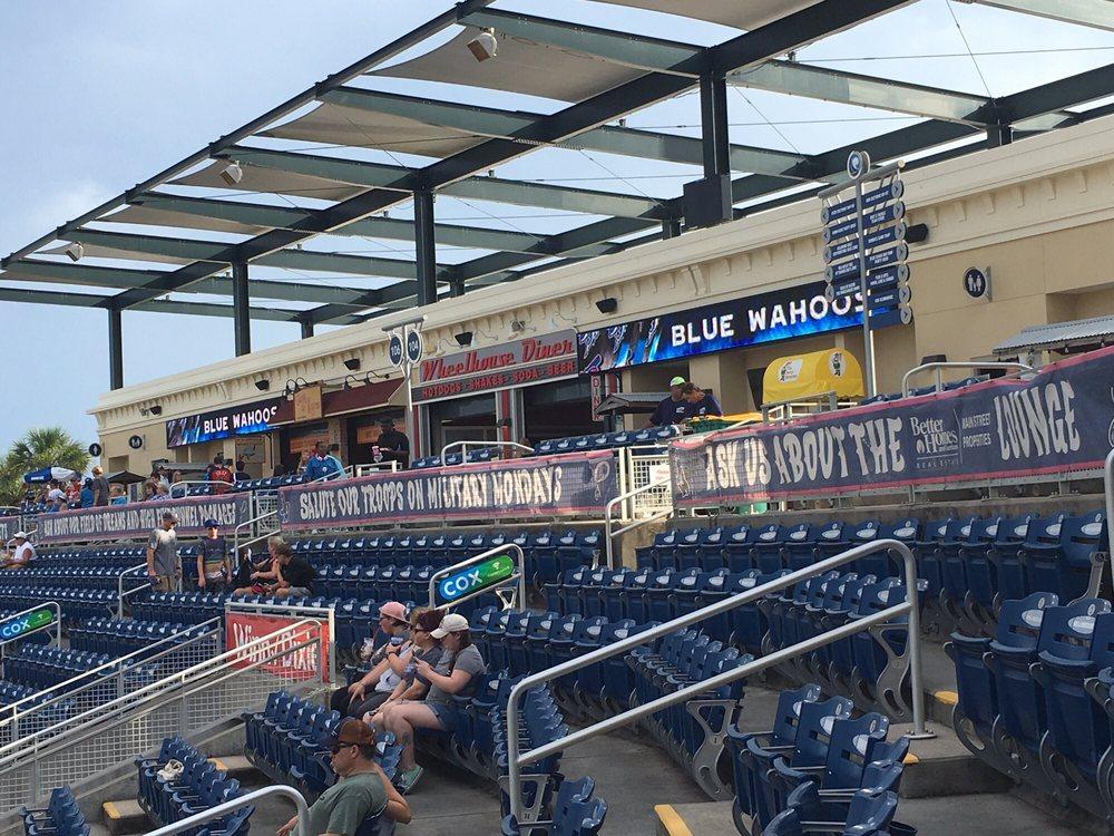 Social Spots from Blue Wahoos Stadium