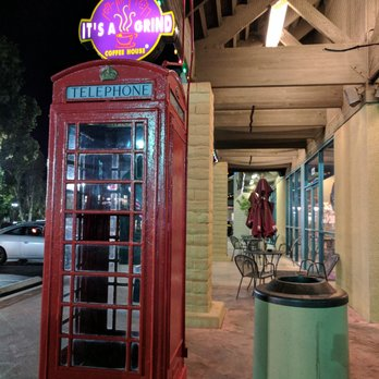 old school phone booth - Yelp