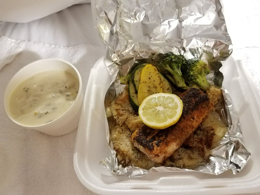 Food from Lighthouse Seafood and Grill