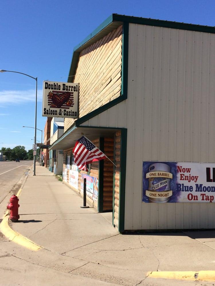 Double Barrel Saloon and Casino: 401 S Ellery, Fairview, MT