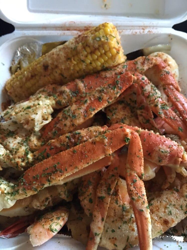 Full combo 1 2 shrimp combo crab fries yelp for Fish restaurants in louisville