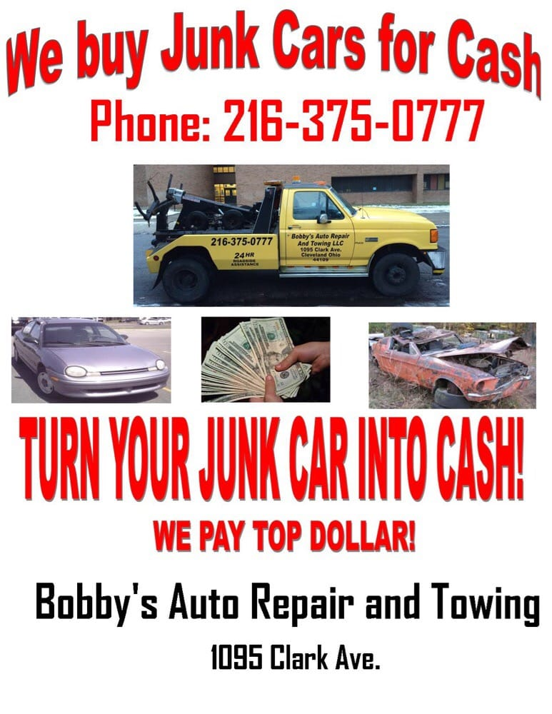 Call us to help you junk your car - Yelp