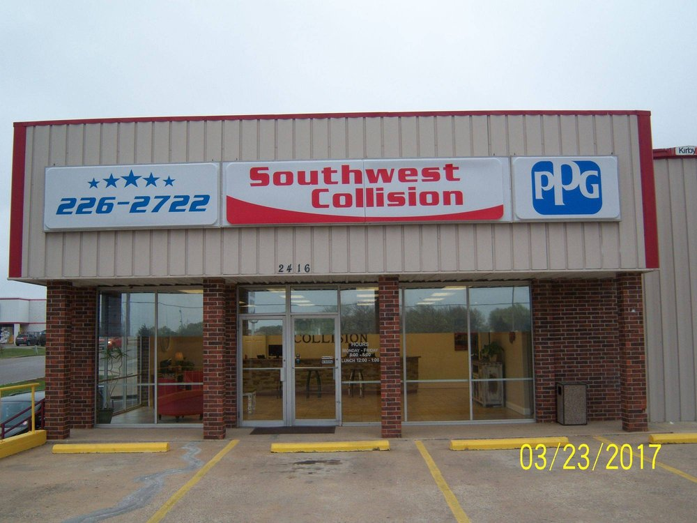 Southwest Collision Center: 2416 N Commerce, Ardmore, OK