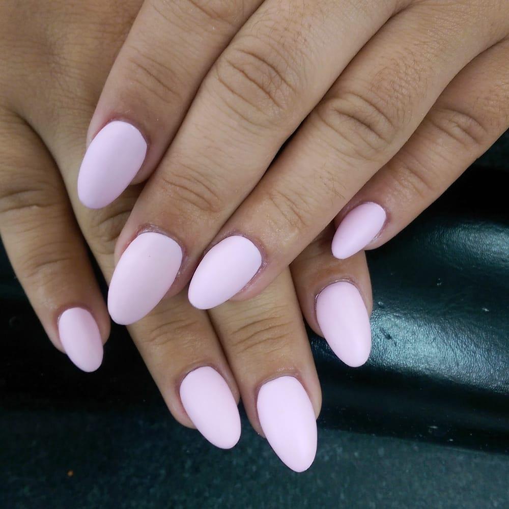 Photo Of Pico Nails Los Angeles Ca United States Almond Acrylic