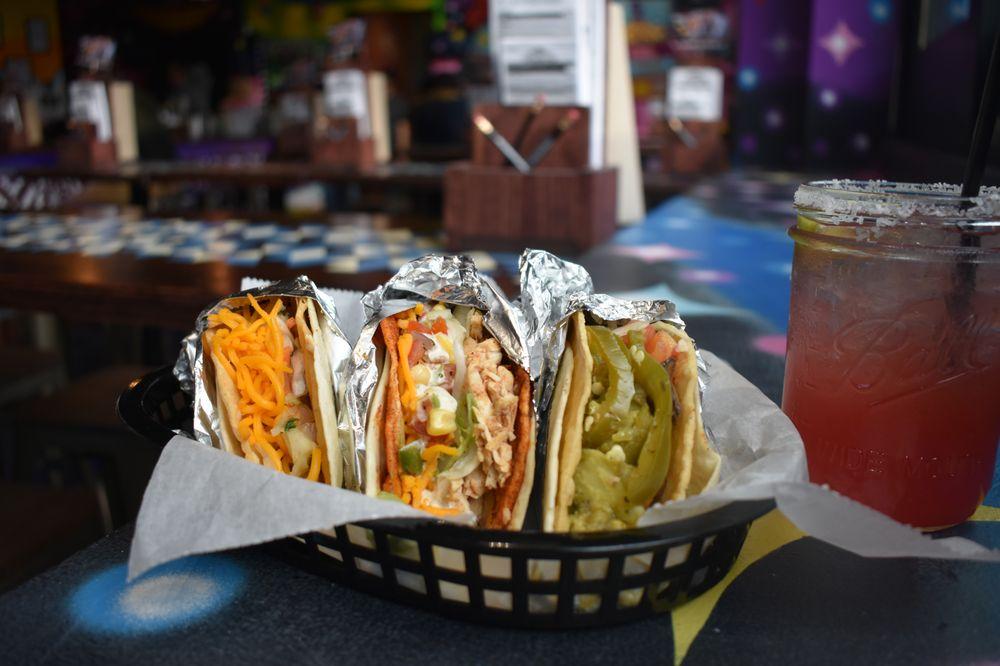 Food from Condado Tacos