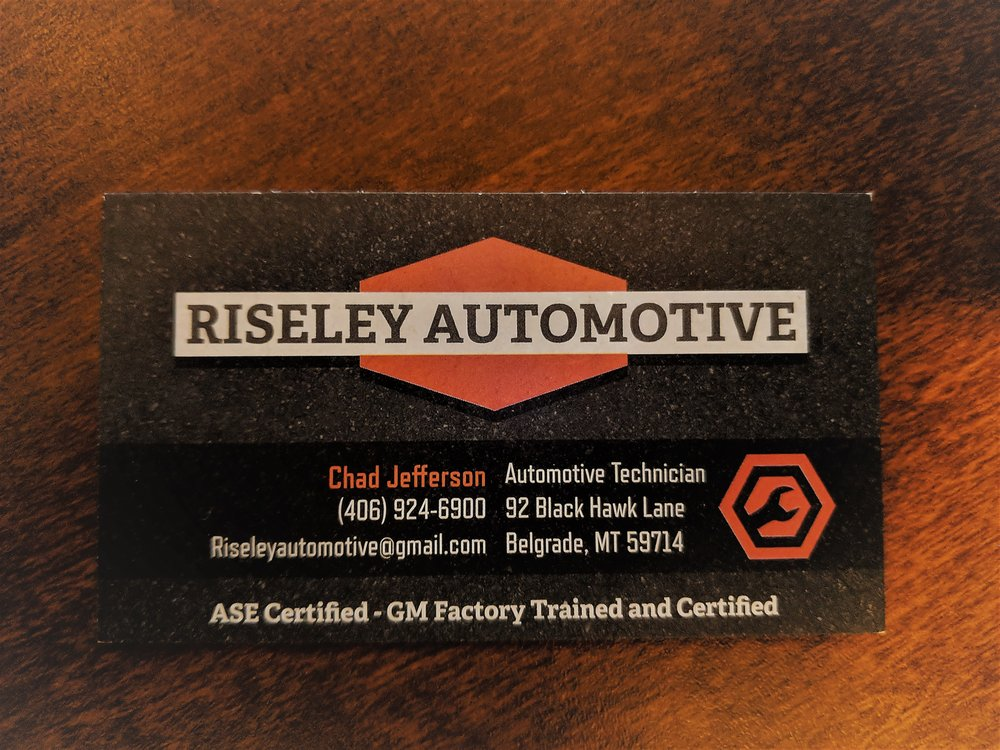 Riseley Automotive: 92 Blackhawk Ln, BELGRADE, MT