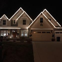 photo of custom christmas lighting chanhassen mn united states we love christmas