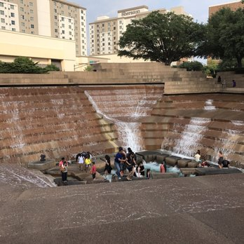 Photo Of Fort Worth Water Gardens   Fort Worth, TX, United States. Fun