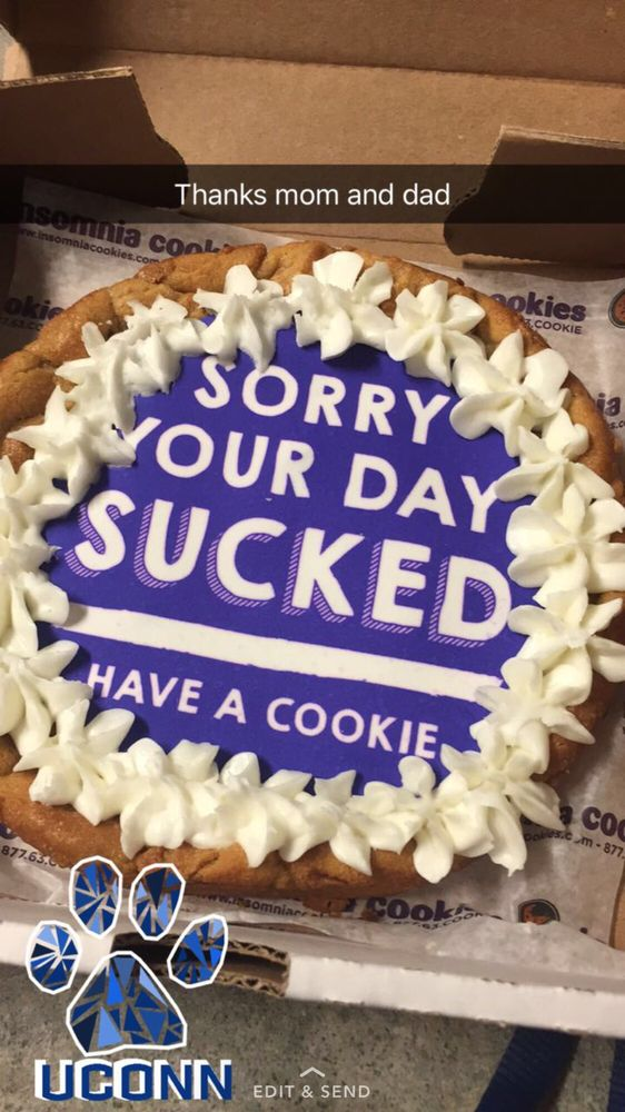 Photo Of Insomnia Cookies Mansfield Ct United States Ed One Is Mini