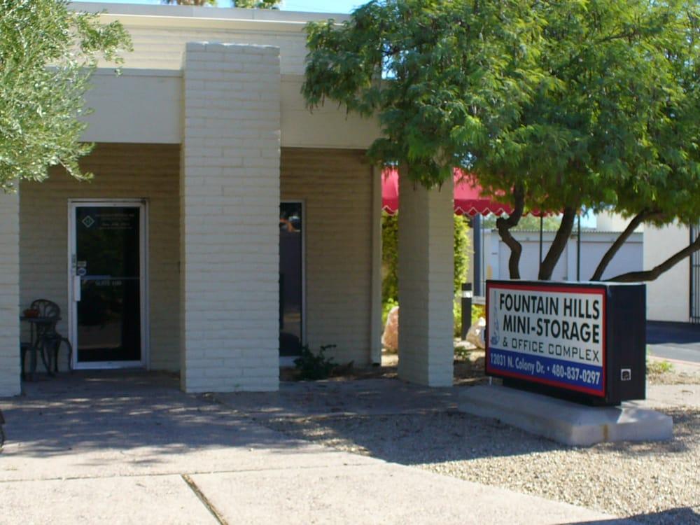 Fountain Hills Mini Storage U0026 Office Complex   Self Storage   12031 N  Colony Dr, Fountain Hills, AZ   Phone Number   Yelp