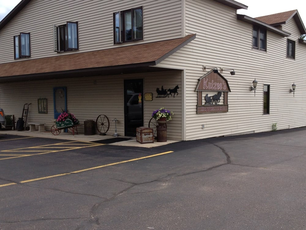Kutzee's Supper Club: 34027 County Hwy X, Stanley, WI