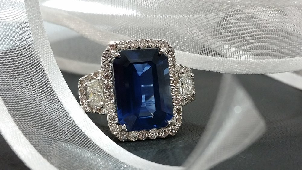 Sapphires are known for their crystal energy to reduce for Baxter s fine jewelry