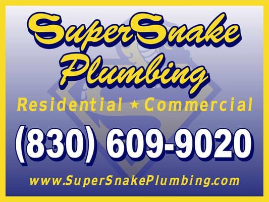Photo Of Supersnake Plumbing New Braunfels Tx United States