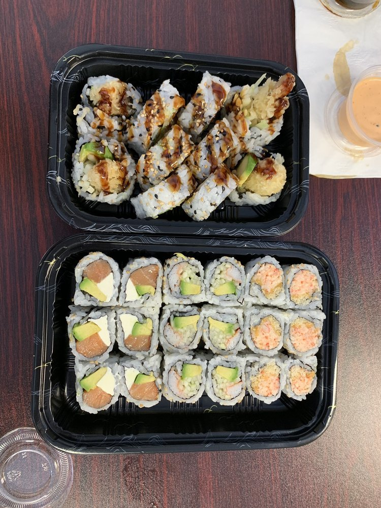 Food from SUSHI X