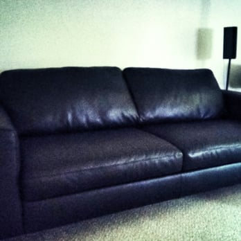 Good Photo Of Furniture Discounters   Santa Clara, CA, United States. Natuzzi  Black Leather