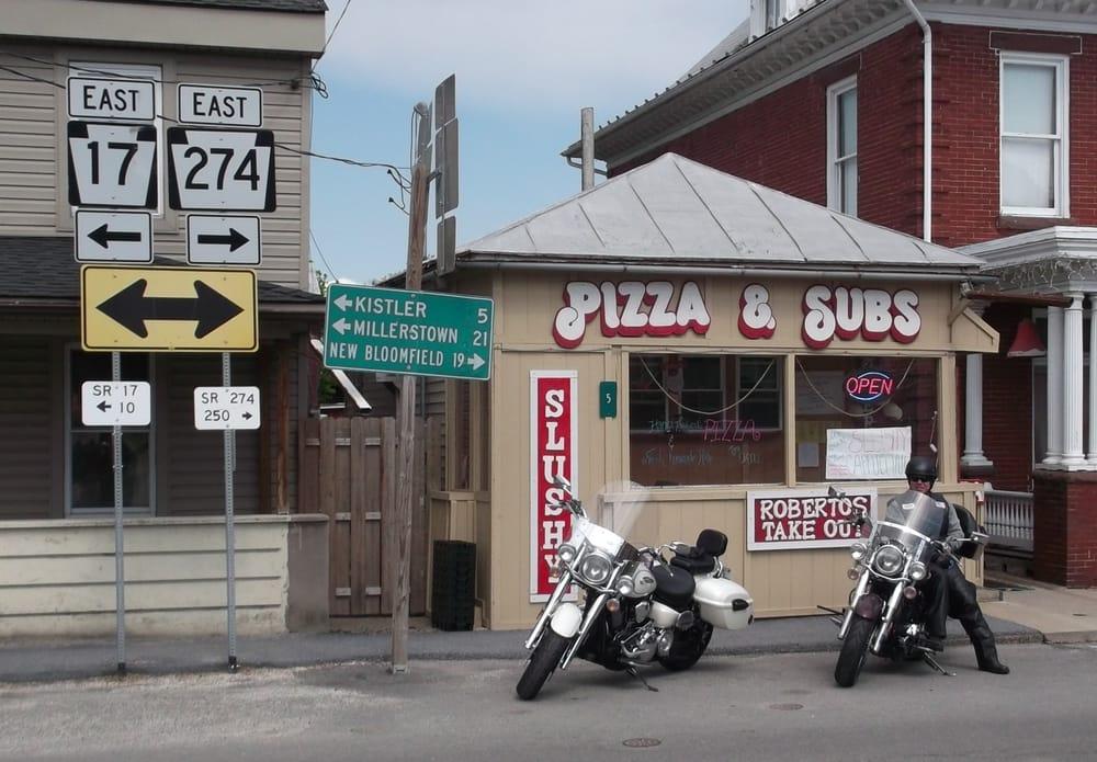 Roberto's Pizza: 5 W Main St, Blain, PA