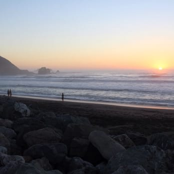 Photo Of Rockaway Beach Pacifica Ca United States Sunset At