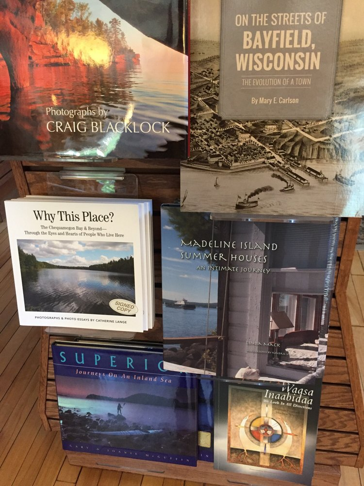 Apostle Islands Booksellers: 112 Rittenhouse Ave, Bayfield, WI