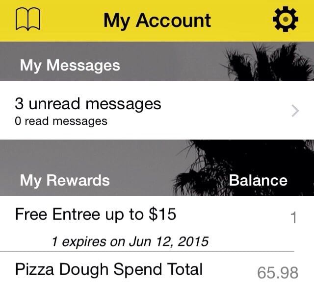 The Best Lunch Is A Free Lunch Courtesy Of Pizza Dough Rewards Card So Sign Up It 39 S Free