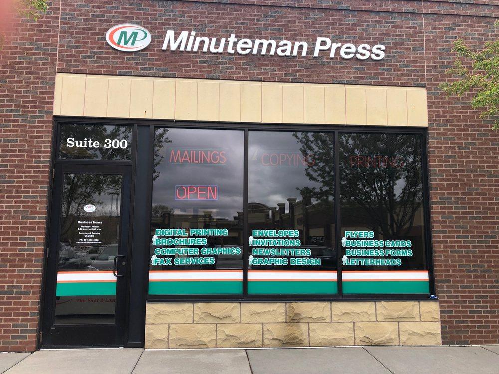 Minuteman Press: 525 Main St, New Brighton, MN