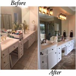 Photo Of Re Bath Temple Tx United States Quartz Countertop Bathroom