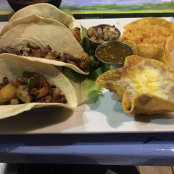 Photo Of Amigos Mexican Restaurant Dublin Oh United States Hawaiian Pork Tacos