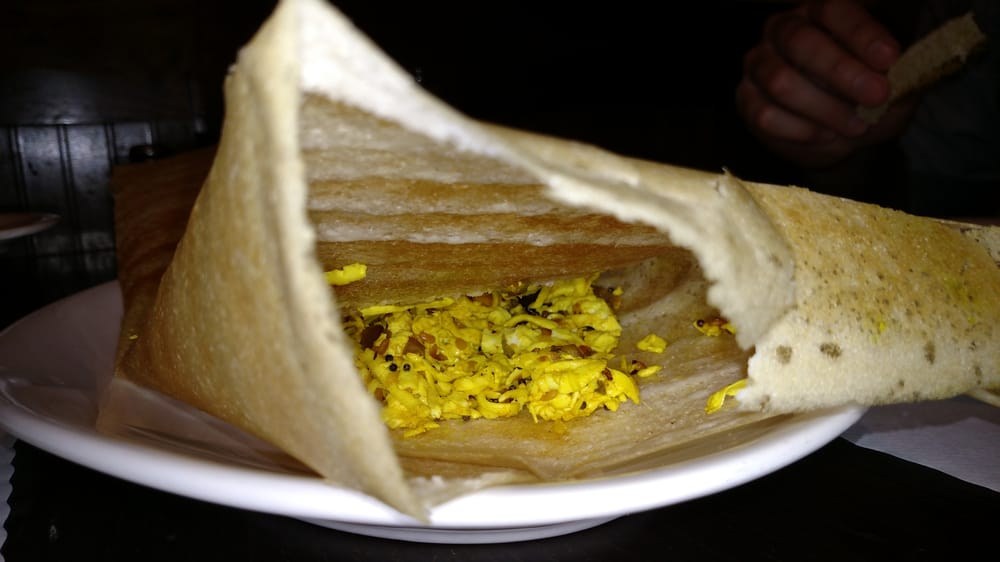 Inside the paneer burji dosa yelp for 8elements perfect indian cuisine