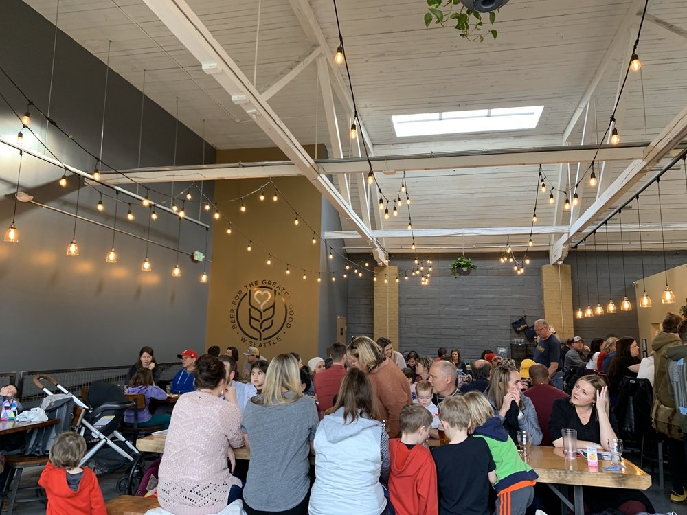 The Good Society Brewery & Public House: 2701 California Ave SW, Seattle, WA
