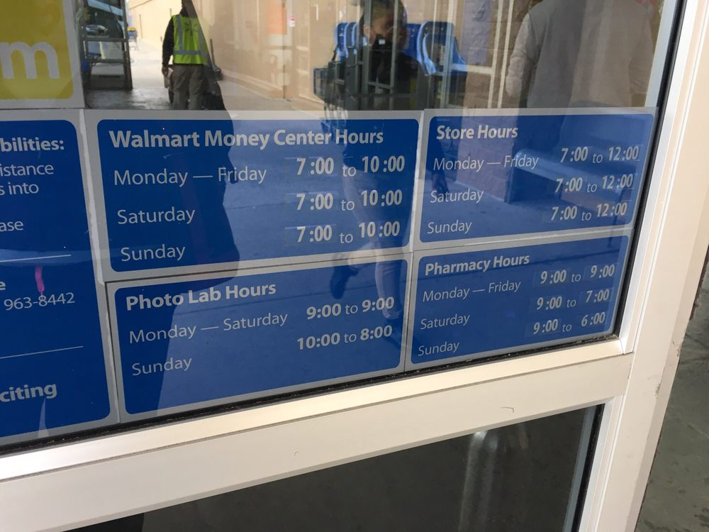 Actual store hours - Yelp