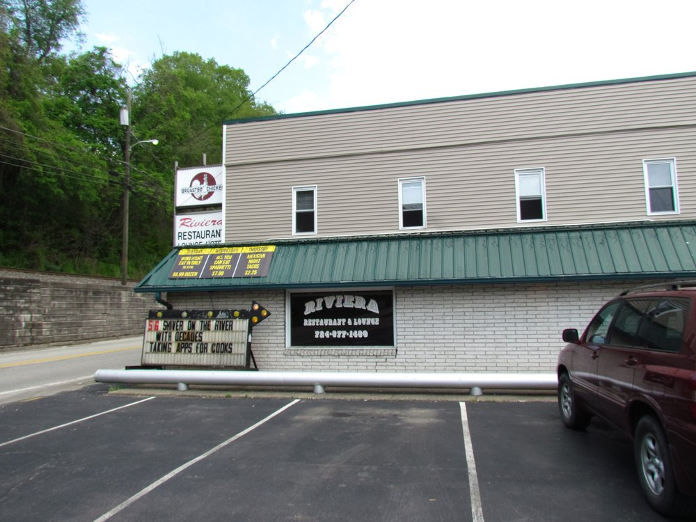 The Riv Restaurant & Bar: 564 Front St, Fredericktown, PA