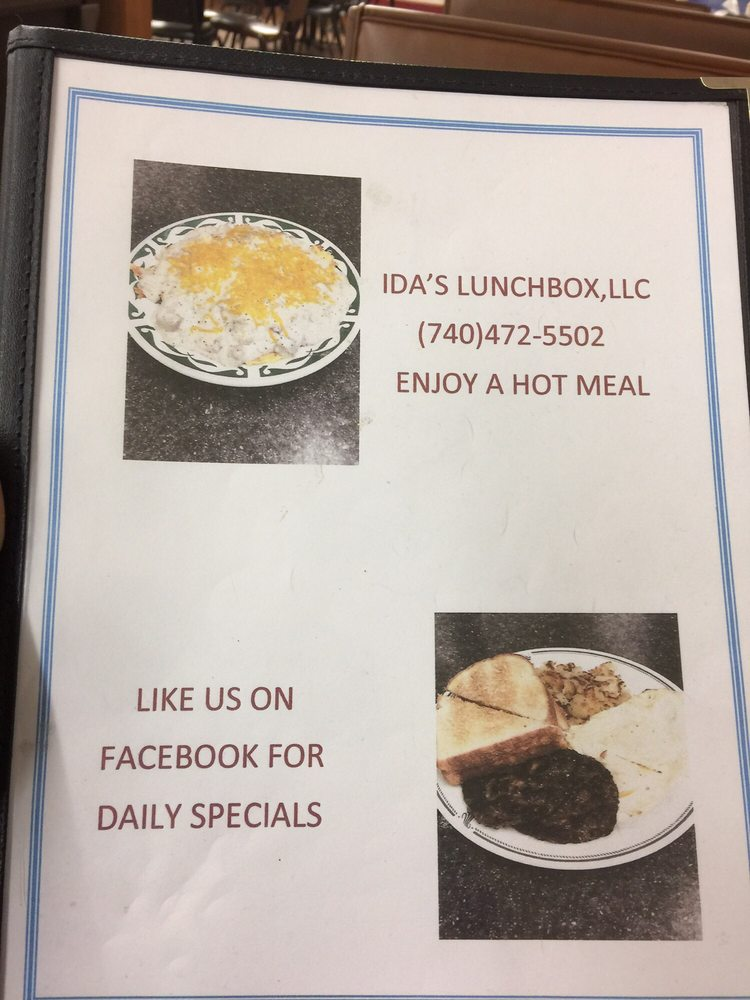Ida's Lunch Box: 211 S Main St, Woodsfield, OH