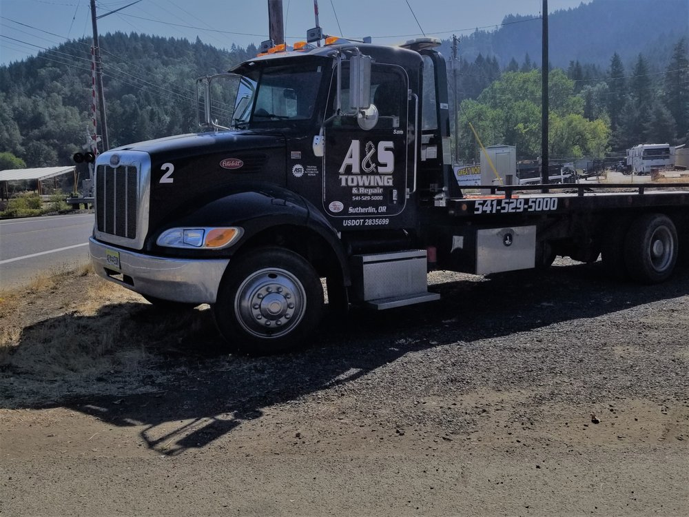 A&S Towing And Repair: 1378 S Calipooia St, Sutherlin, OR