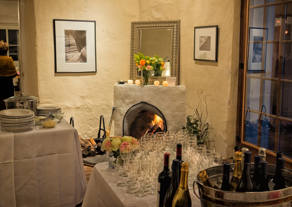 A Cozy November Dinner In The Gallery Catered By Walter