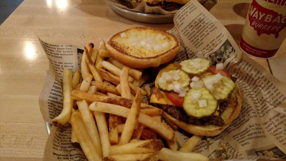 Wayback Burgers: 26455 Johnson Rd, Evans Mills, NY