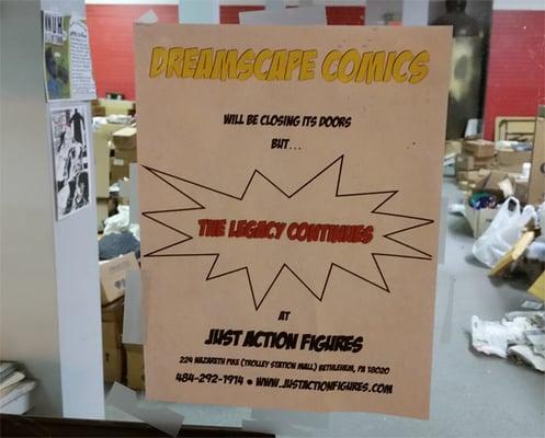 Dreamscape Comics - CLOSED - Comic Books - 302 W Broad St