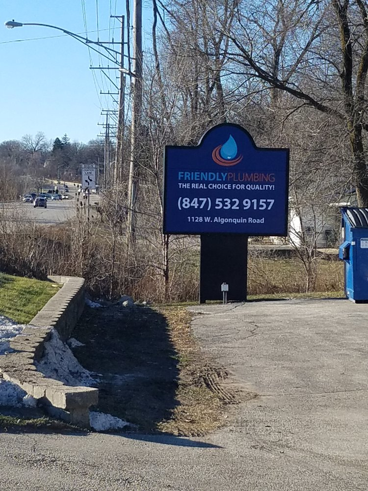 Friendly Plumbing: 1128 W Algonquin Rd, Lake in the Hills, IL