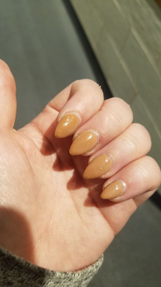 darker, discolored nails - Yelp