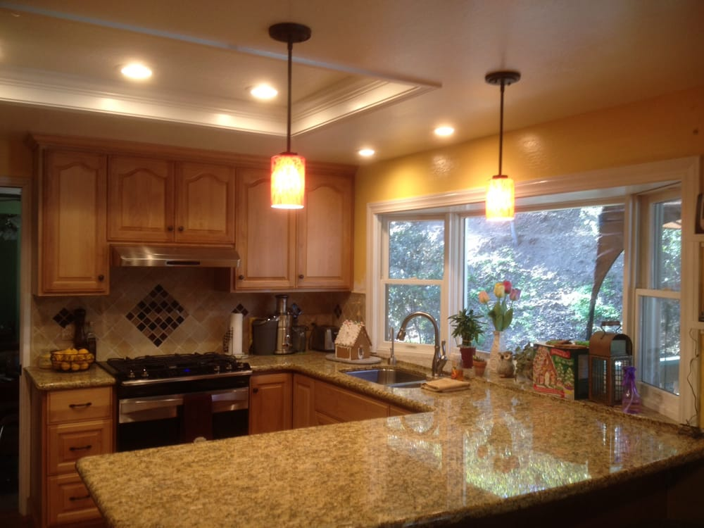 Update Your Old Kitchen Lighting With Recessed LED Lighting And - Update kitchen lighting