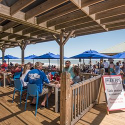 Photo Of Pier 101 Restaurant Bar Folly Beach Sc United States